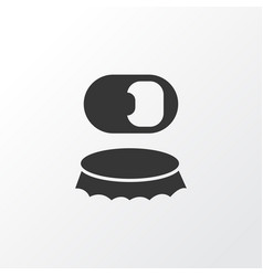 bottle opener icon symbol premium quality vector image