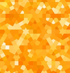 Golden autumn pattern with arabic texture vector