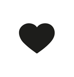 heart icon design element logo element love vector image