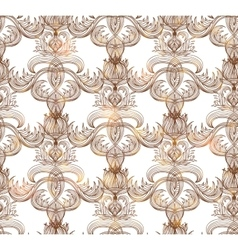 Seamless vintage pattern EPS vector image