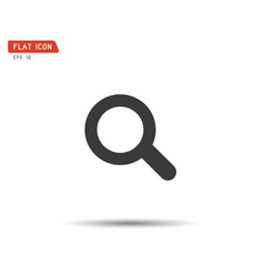 search icon eps logo vector image