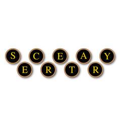 Secretary vector