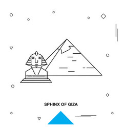 Sphinx of giza vector
