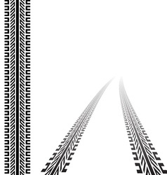 Trace of the tyres vector
