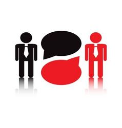business negotiations vector image vector image