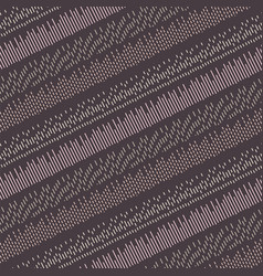 Diagonal stitches seamless purple pattern vector