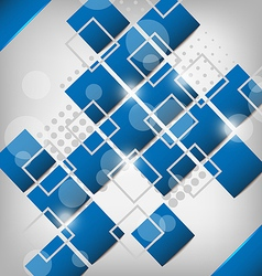 Abstract creative background with squares vector