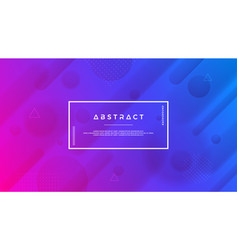 abstract modern trendy gradient background vector image