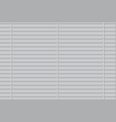 closed roller shutters window vector image