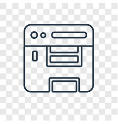 Compiler concept linear icon isolated on vector