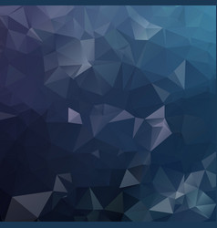 dark polygonal mosaic background geometric vector image