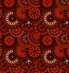 decorative ethnic pattern vector image