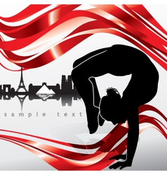 French ballet vector