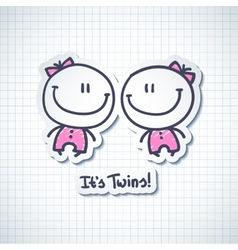 Its twins vector