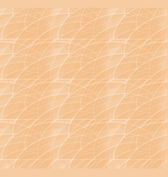 pink abstract background with fine white curves vector image
