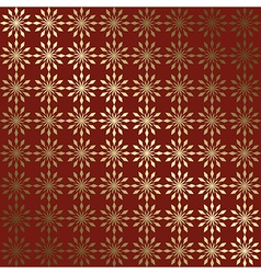 Red and gold geometric background with gradient vector