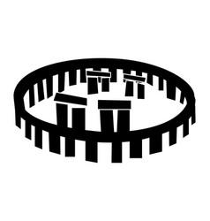 stonehenge icon vector image