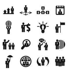 people icon2 vector image vector image