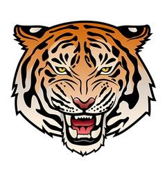 Tribal tiger color VS vector image vector image