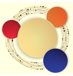 Abstract Circle vector image
