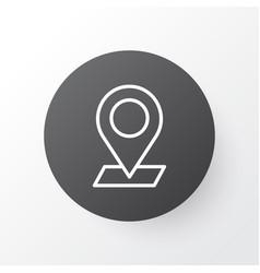 Check in icon symbol premium quality isolated vector