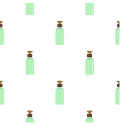 Closed vial pattern seamless vector