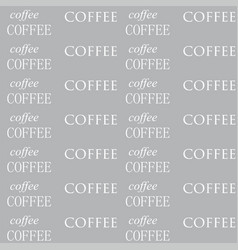 Coffee wallpaper white color vector