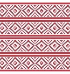 Geometric Christmas seamless pattern vector