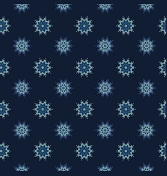 glowing stars texture seamless pattern vector image