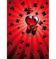 love with suitors vector image