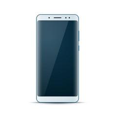 realistic 3d smartphone digital gadget icon vector image