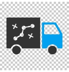 Route Van Eps Icon vector