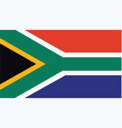 South africa flag for independence day and vector
