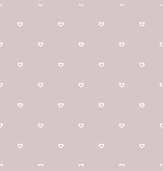 Subtle hearts pattern valentines day background vector