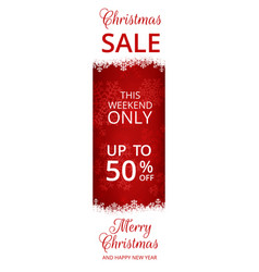 Web banner for christmas vector
