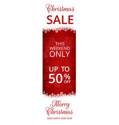 web banner for christmas vector image