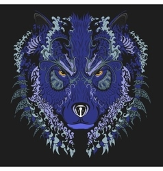 Wolf Blue vector image