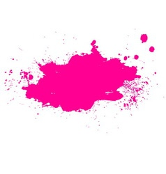 Colorful splash banner vector image vector image