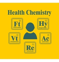 Health lifestyle relative image vector image vector image