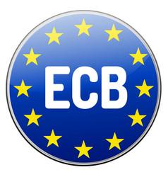 Ecb - european central bank vector