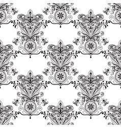 Seamless Paisley Doogle Pattern vector image vector image