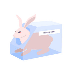 Animal testing icon vector