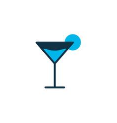 cocktail icon colored symbol premium quality vector image