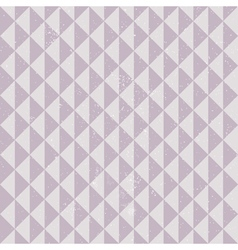 geometric pattern with grunge vector image