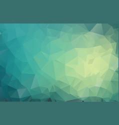 retro polygonal mosaic background geometric vector image