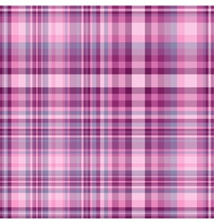 Seamless pink and purple checkered pattern vector image vector image