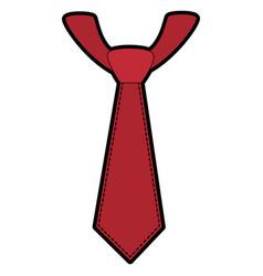 Tie accessory design vector