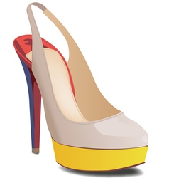 Slingback vector image vector image