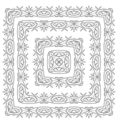 abstract pattern frame vector image