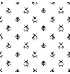 Dung beetle pattern vector